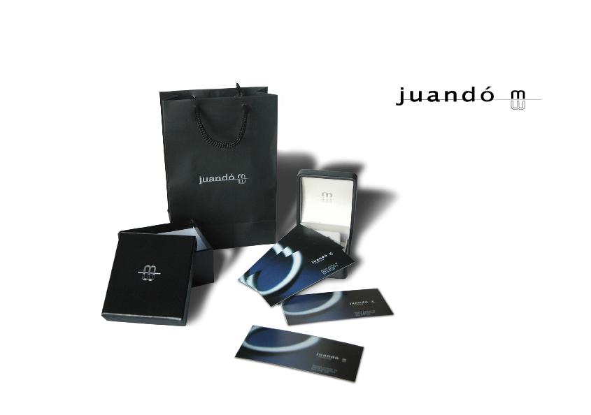Logotipo 'Juandó M.', joyería de Barcelona