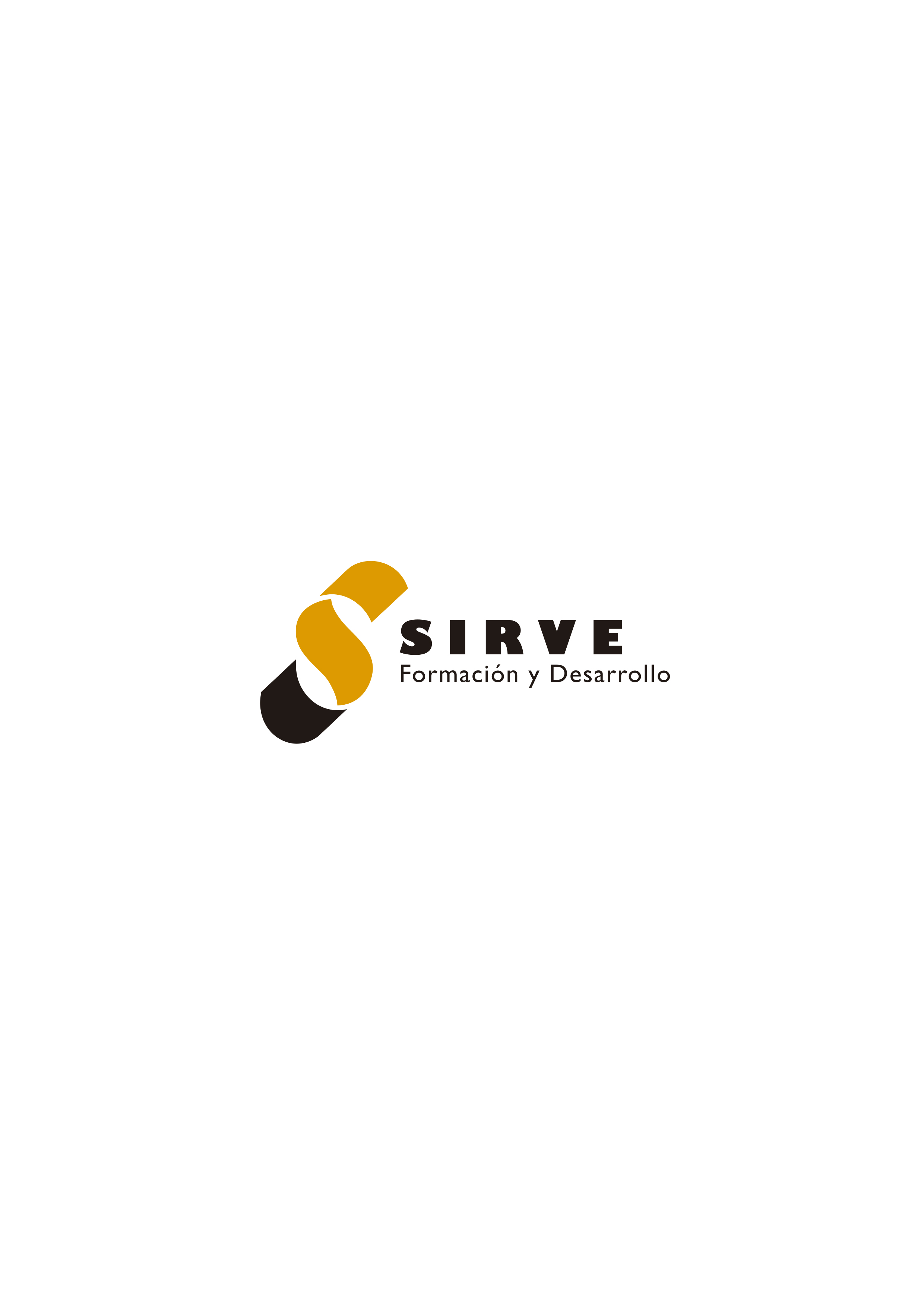 Logotipo para empresa 'Sirve, Formación y Desarrollo'