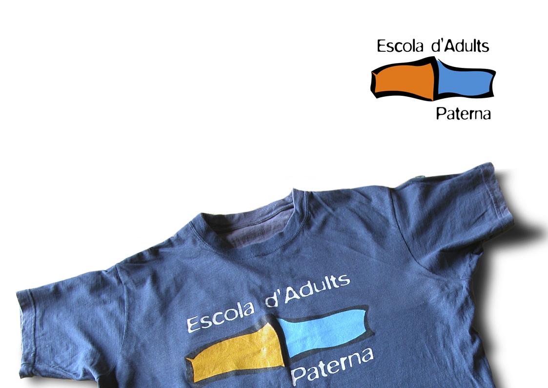 Logotipo para la Escuela de Adultos de Paterna
