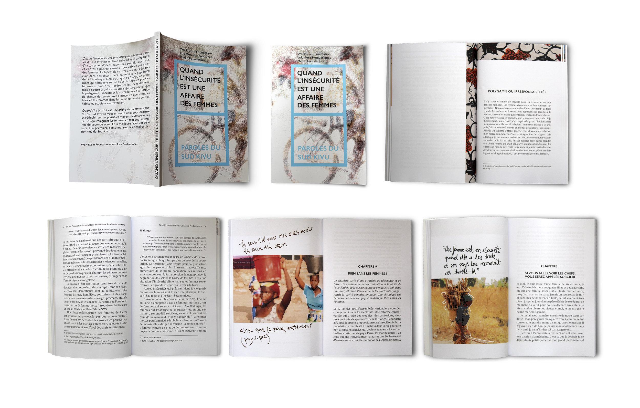 """Libro para Lolamora Producciones """"Quand l'insécurité est une affaire des femmes. Paroles du Sud Kivu"""""""
