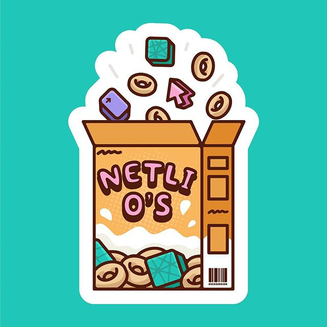 Another sticker I created for NETLIFY earlier this year. This was shared at the JAMstack Conf in London. I'm so in love with this client 😍⠀ ⠀ ⠀ ⠀ •⠀ •⠀ •⠀ •⠀ •⠀ •⠀ •⠀ •⠀ •⠀ •⠀ •⠀ •⠀ •⠀ •⠀ •⠀ •⠀ #illustration #design #art #graphicdesign #vector #creative #adobeillustrator #icon #iconography #illustrator #drawing #artist #designer #freelance #illustration #startup #sketchbook #character #characterdesign  #designspiration #brand #merch #sticker #design #designtip #thedesigntip #marketing