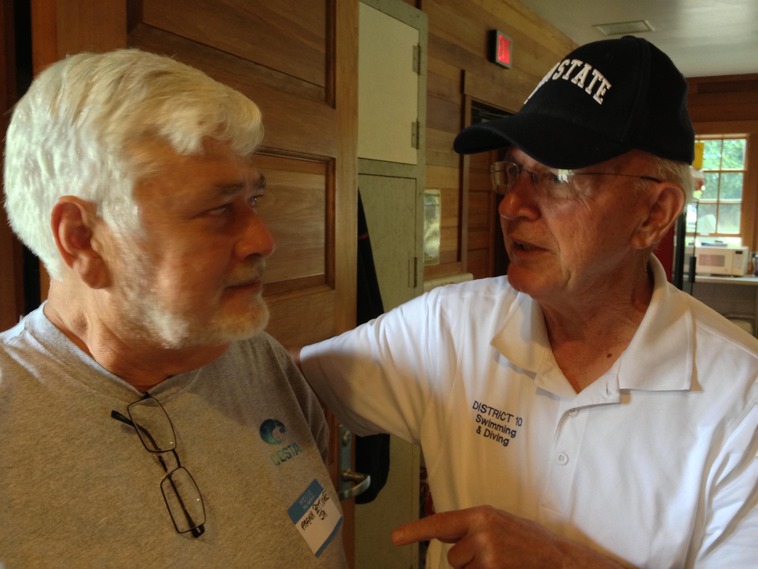 Frank Pettinato Jr. and Fred Vickey