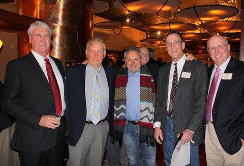 Les Moore, Joe Deimel, Steve DiRaimo, Leigh Rounds, Dave Nelson  Bob Sprickman in background