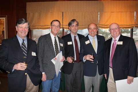 Joe Mehl, Leigh Rounds, Bill Lillis, Pete Smith and Dave Nelson
