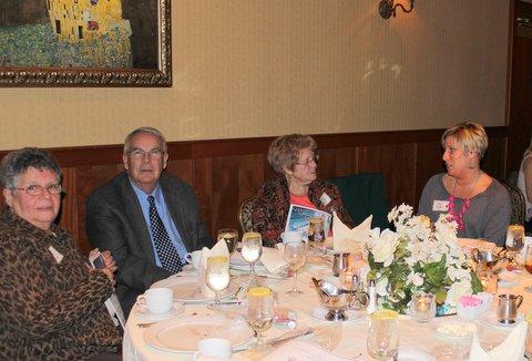 Barb Budny, Barry Poulson, Marty Schaaf and Halli Reid