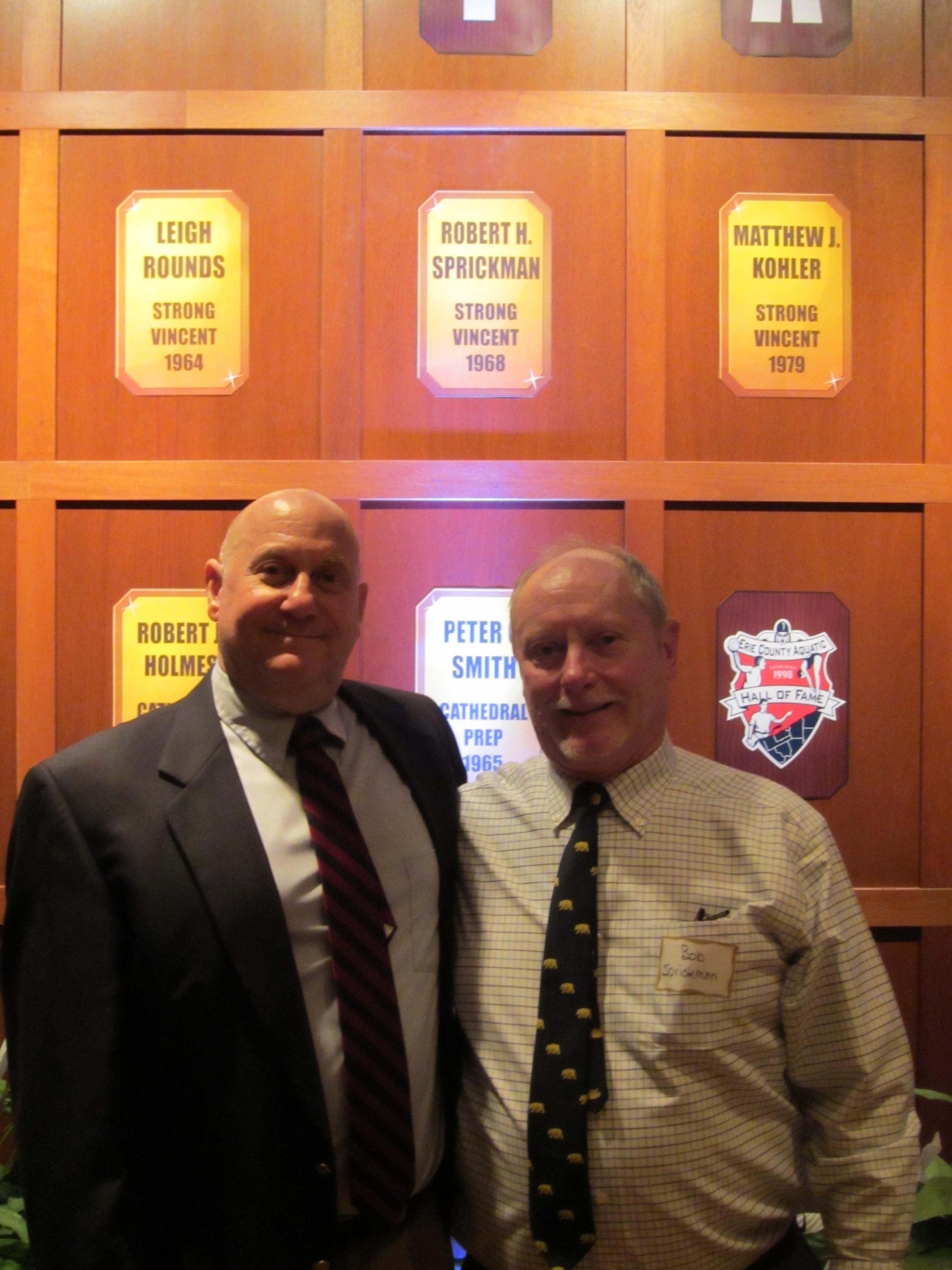 Jon Myrick and Bob Sprickman