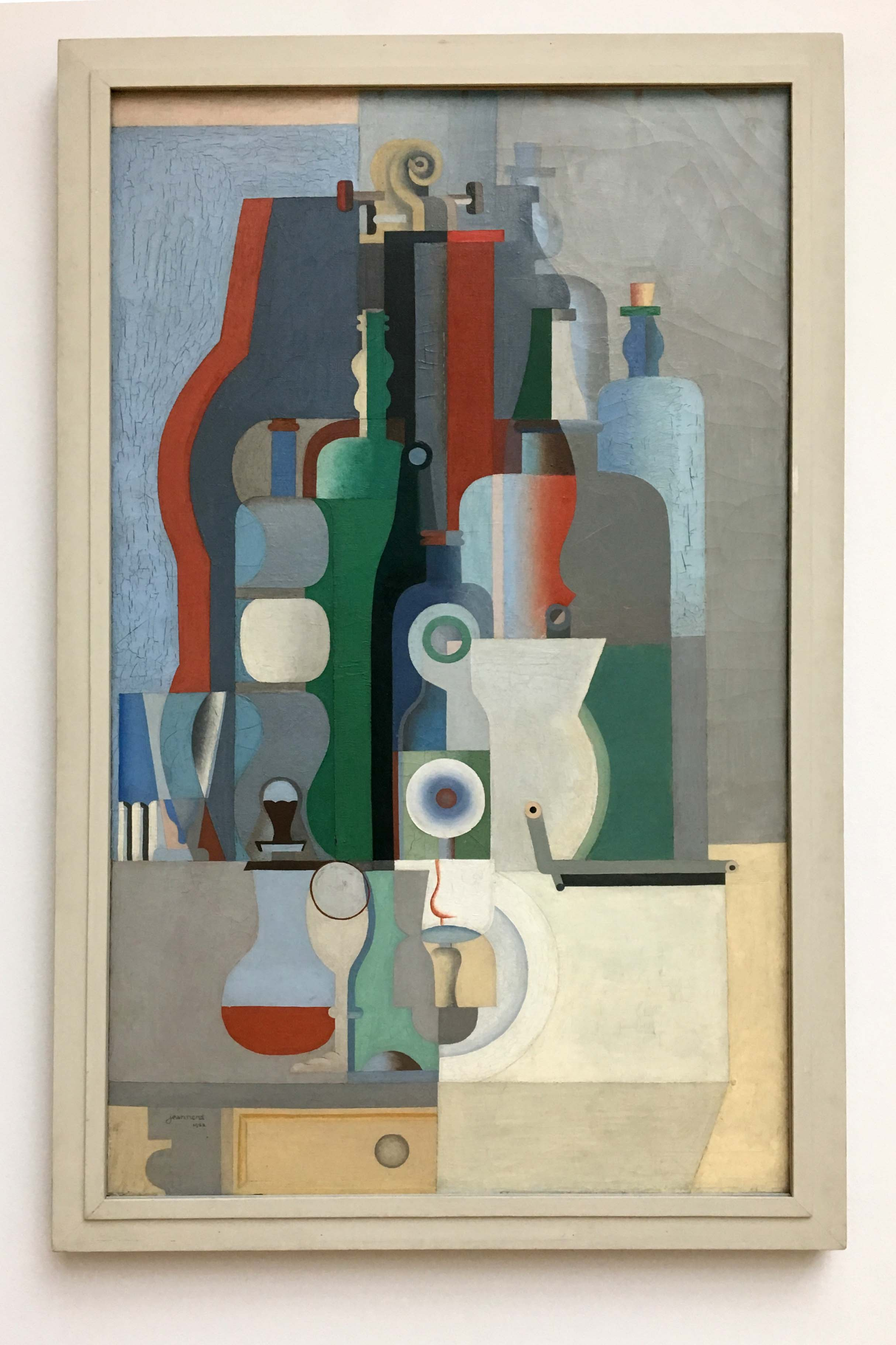 Le Corbusier, Vertical Still Life, 1922