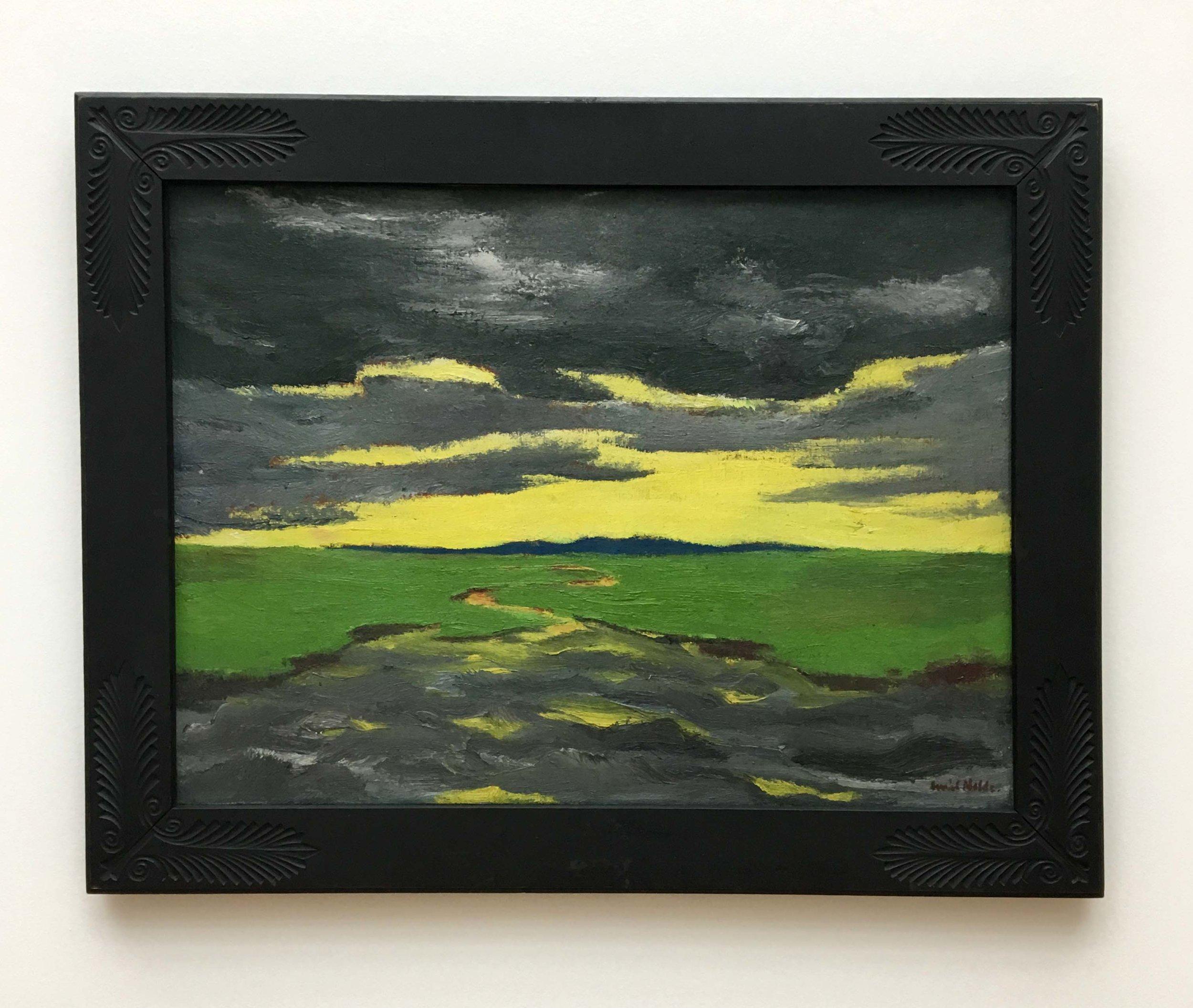 Emil Nolde, Twilight (Marsh Landscape), 1916