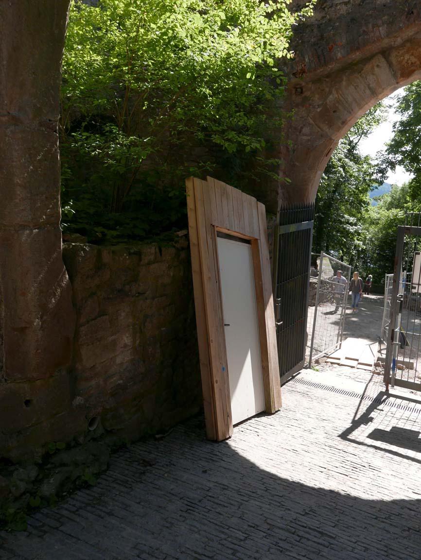 Misplaced doorway