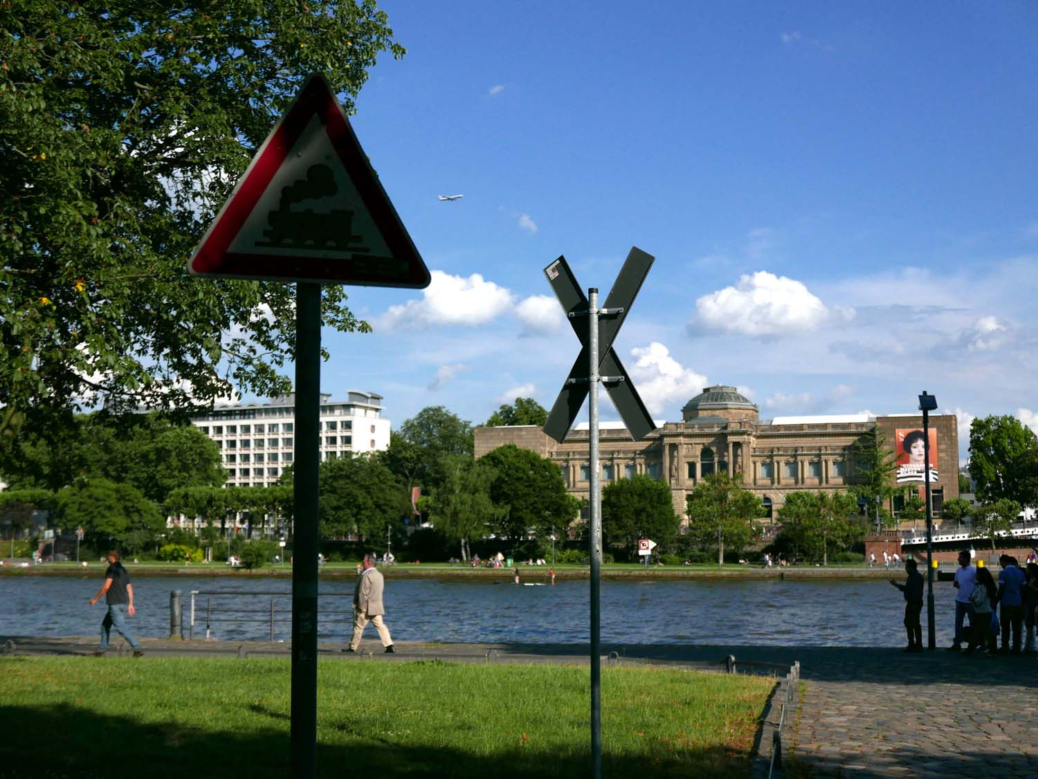 The Städel Museum from across the Main river