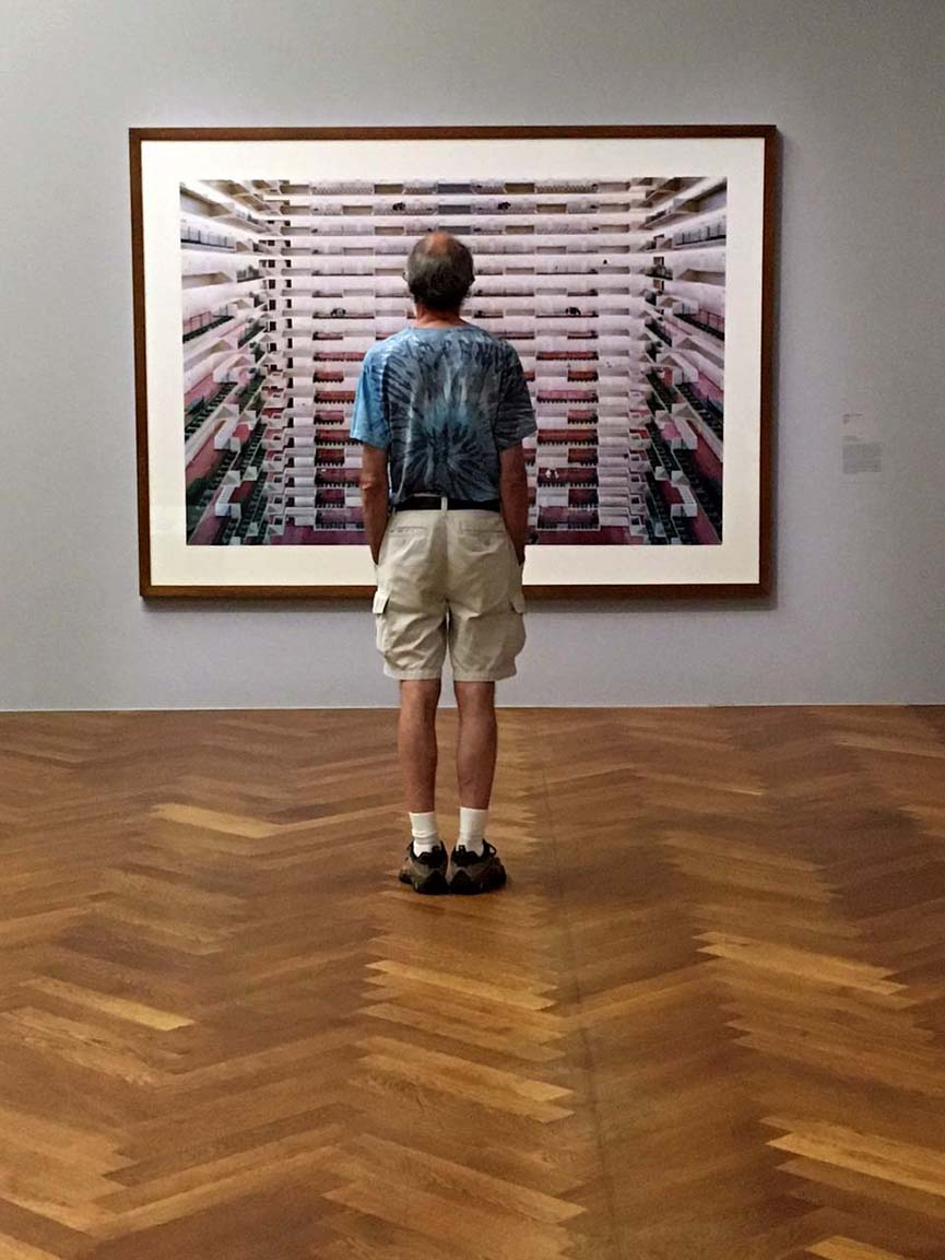 looking at Andreas Gursky