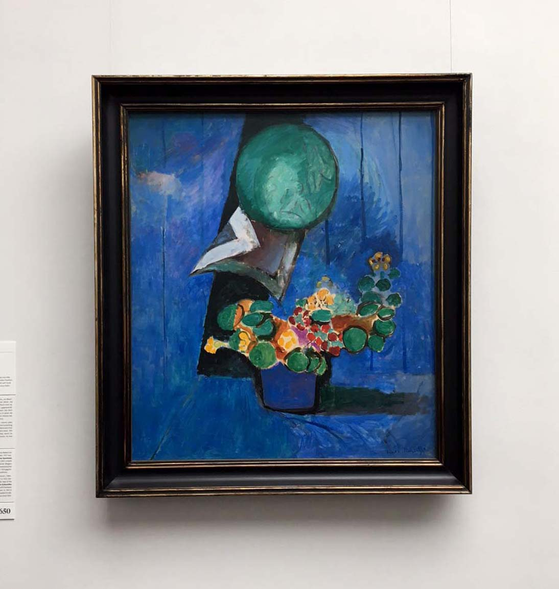 Henri Matisse, Flowers and Ceramic Plate, 1913