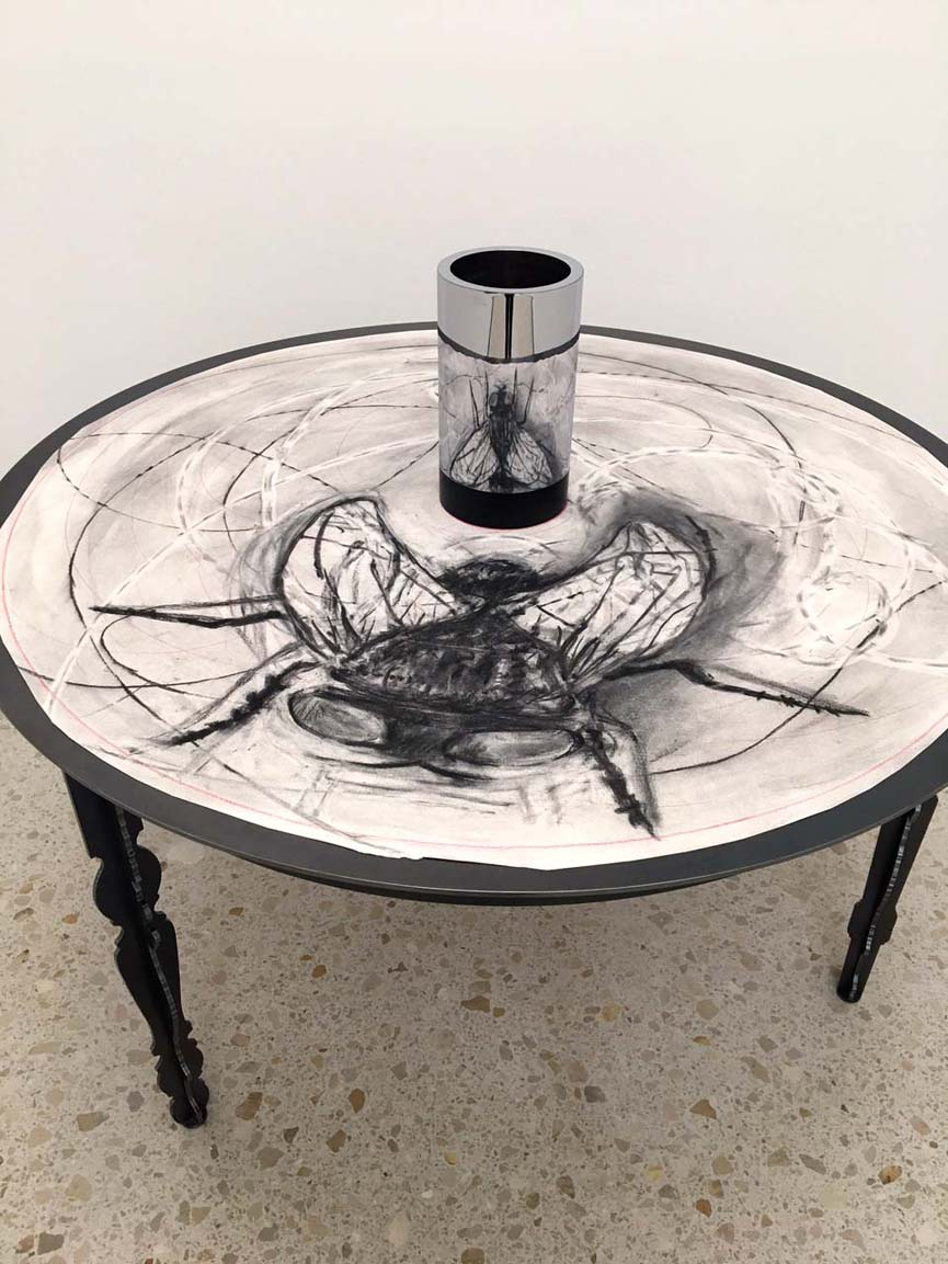 """William Kentridge, Fly, drawing for the movie """"What Will Come"""", 2007"""