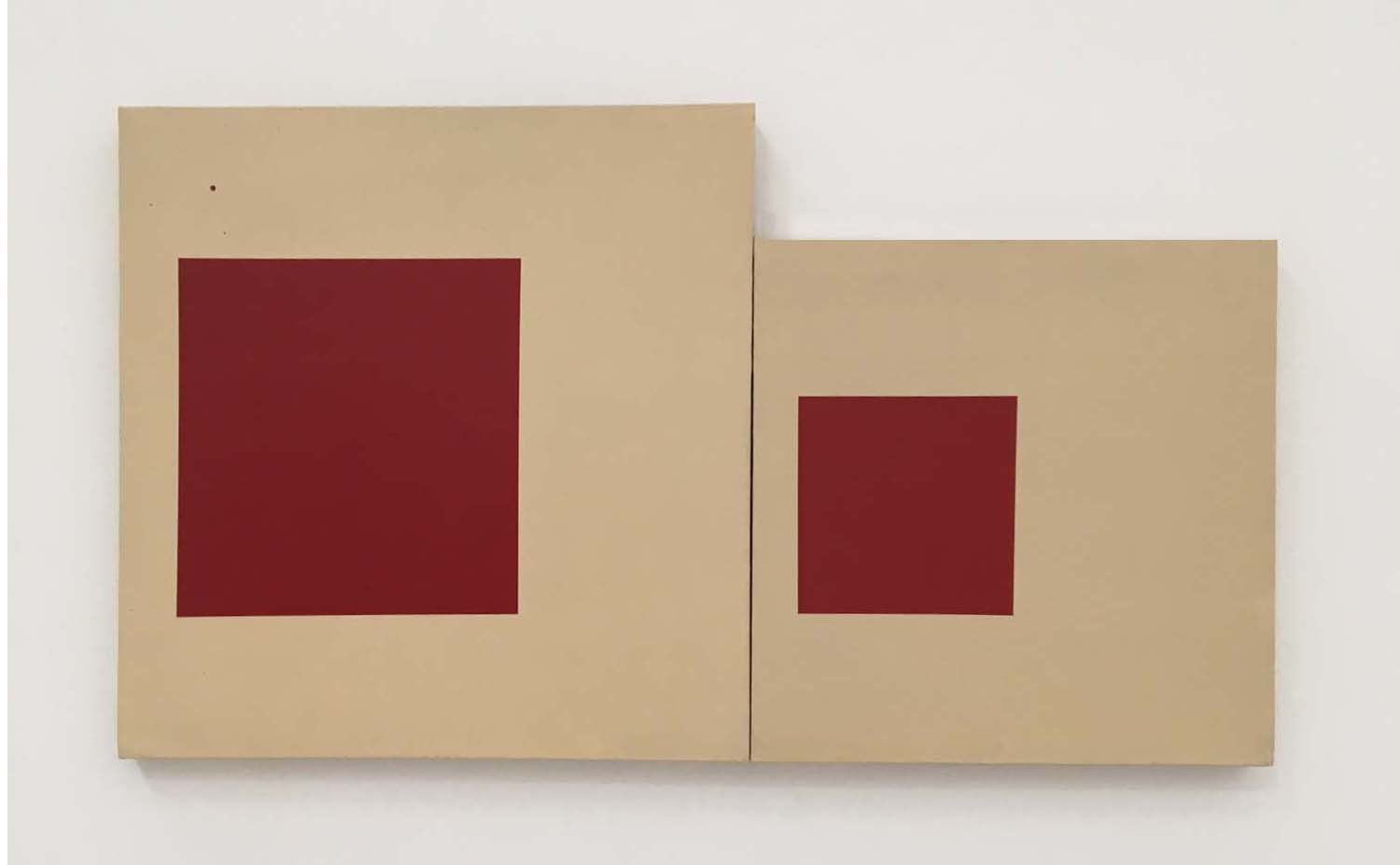 Mary Heilman, The Red Square, 1978