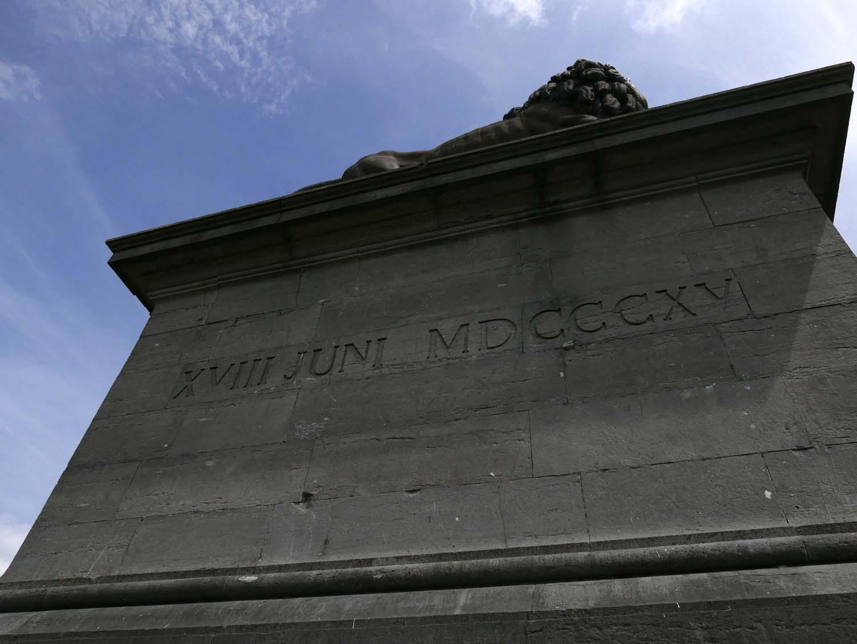 top of the memorial
