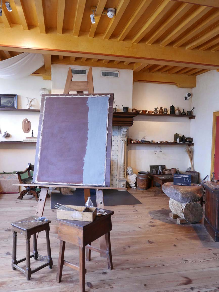 in Rembrandt's studio