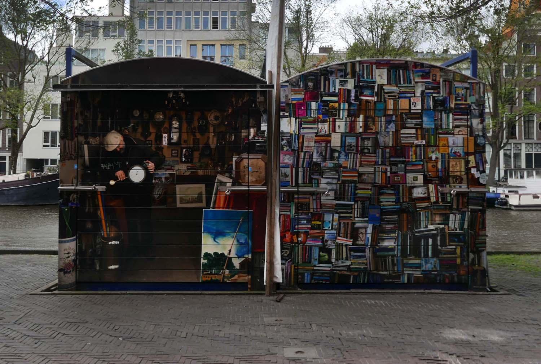 closed flea market stalls
