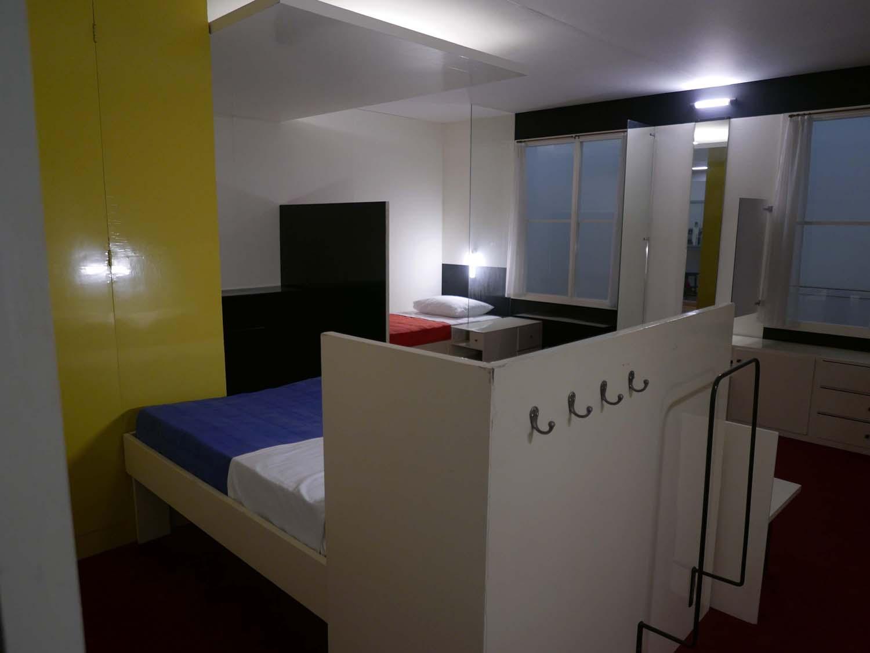 Gerrit Rietveld: Harrenstein slaapkamer, 1926
