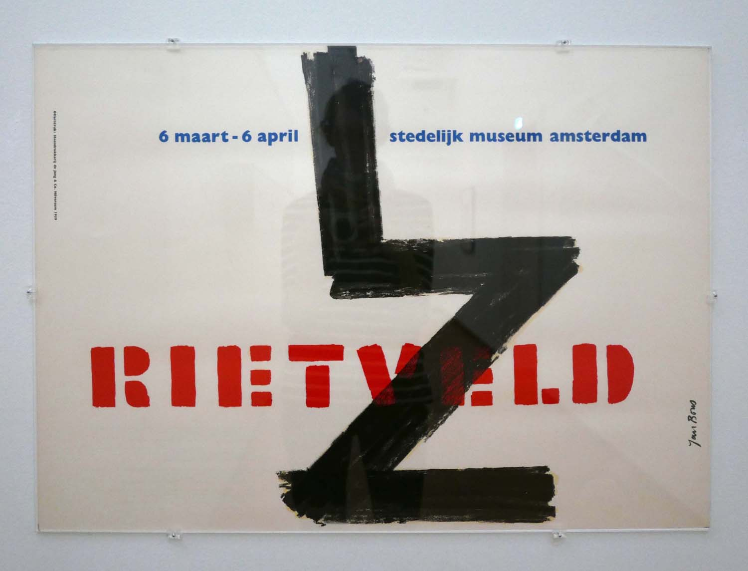 Poster for a Rietveld exhibition