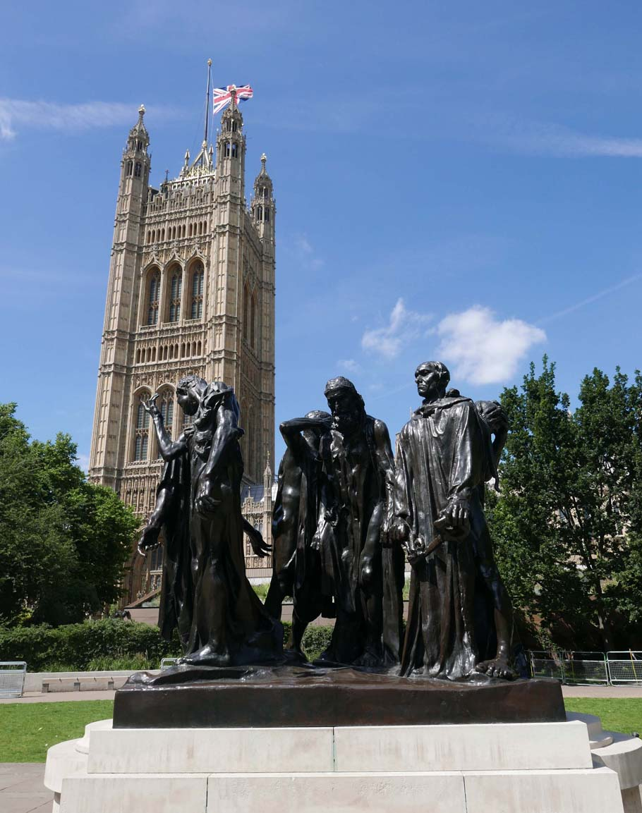 The Burghers of Calais by August Rodin