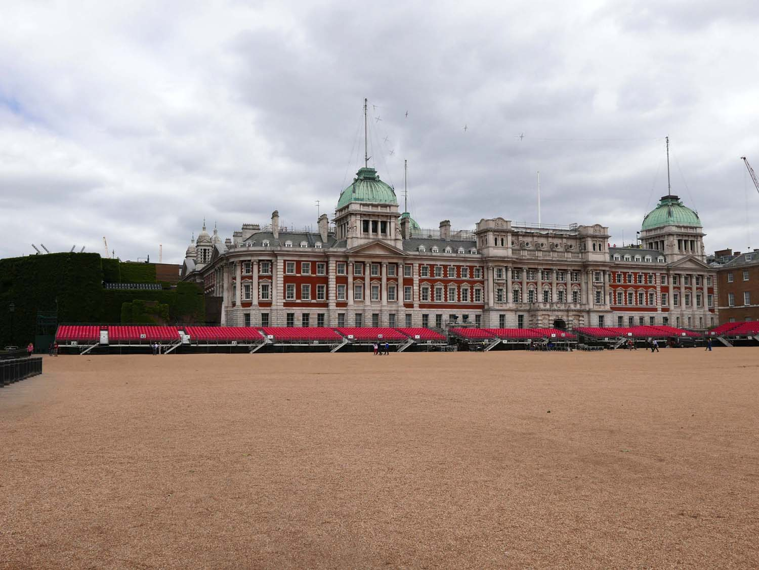 The Horse guard parade grounds