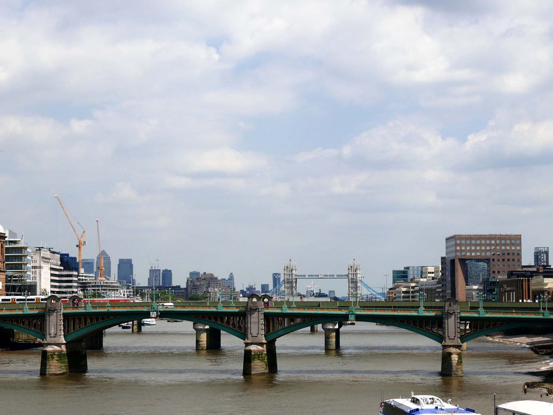 Bridges, Tower bridge in background