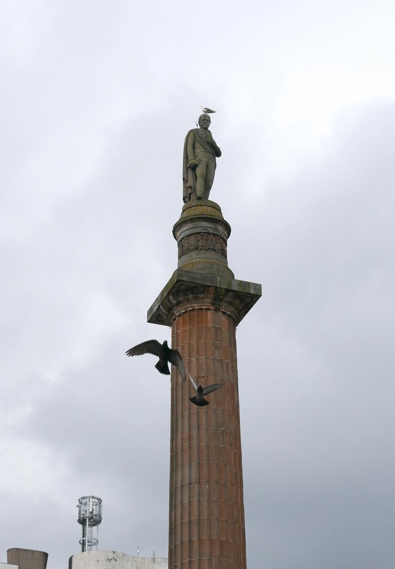 Sir Walter Scott, George Square
