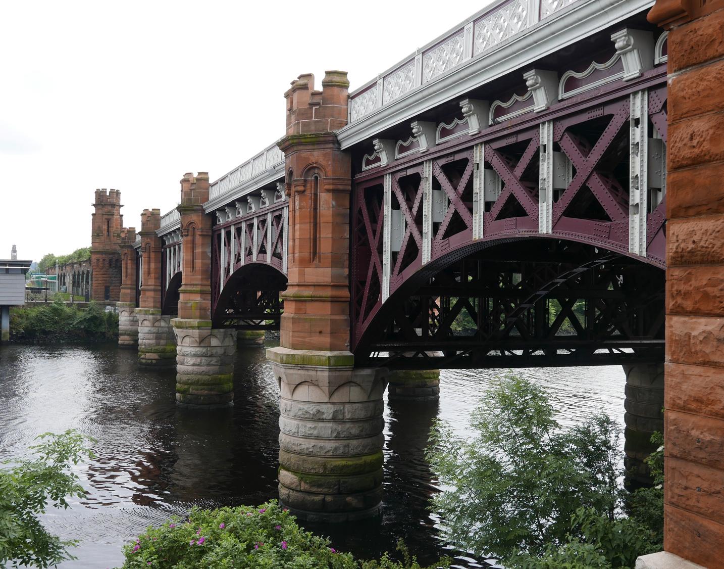 bridge over Clyde River