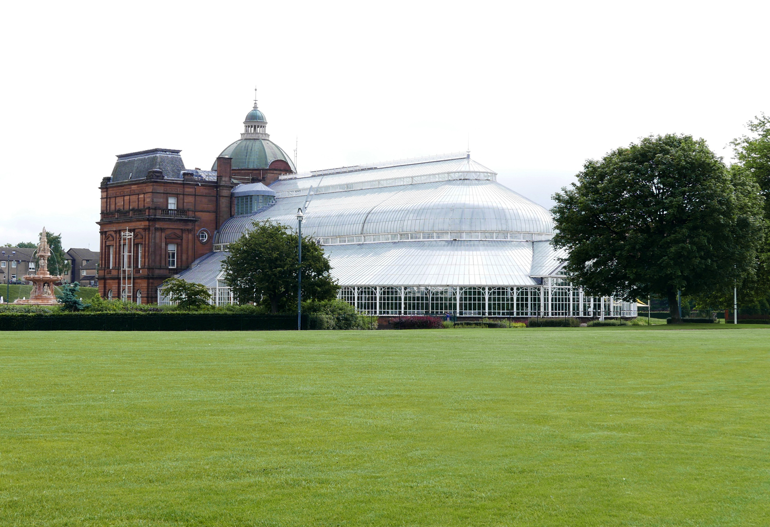 The People's Palace and Winter Garden, Glasgow green