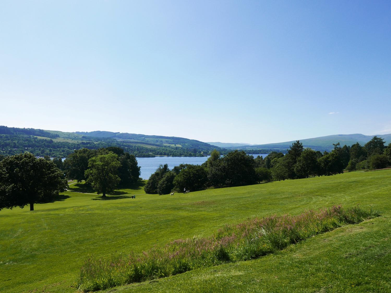 Loch Lomond from Balloch Castle
