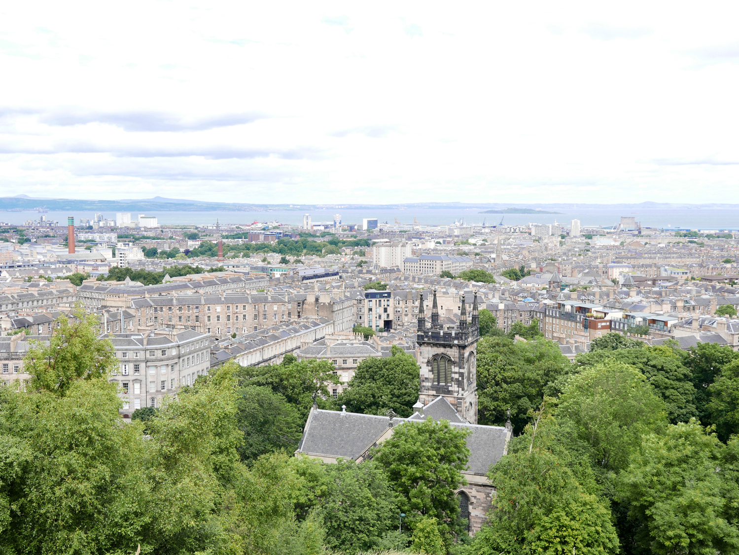 view from Calton Hil