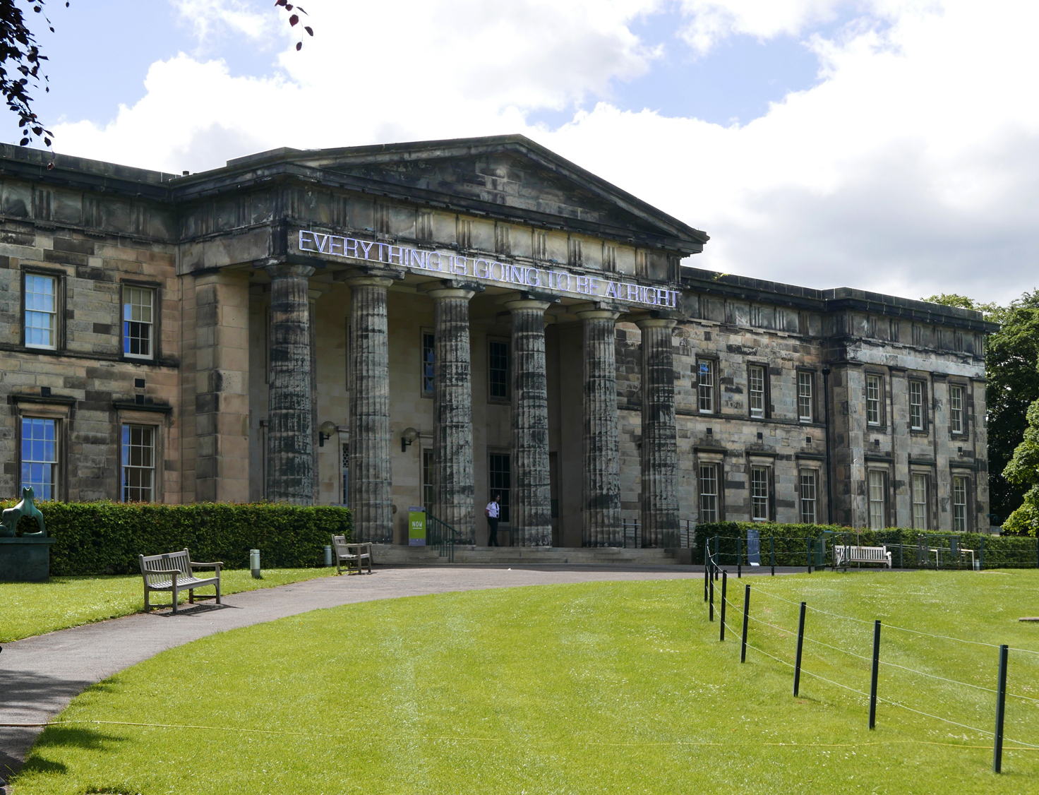 Scottish National Gallery of Modern Art, Building one