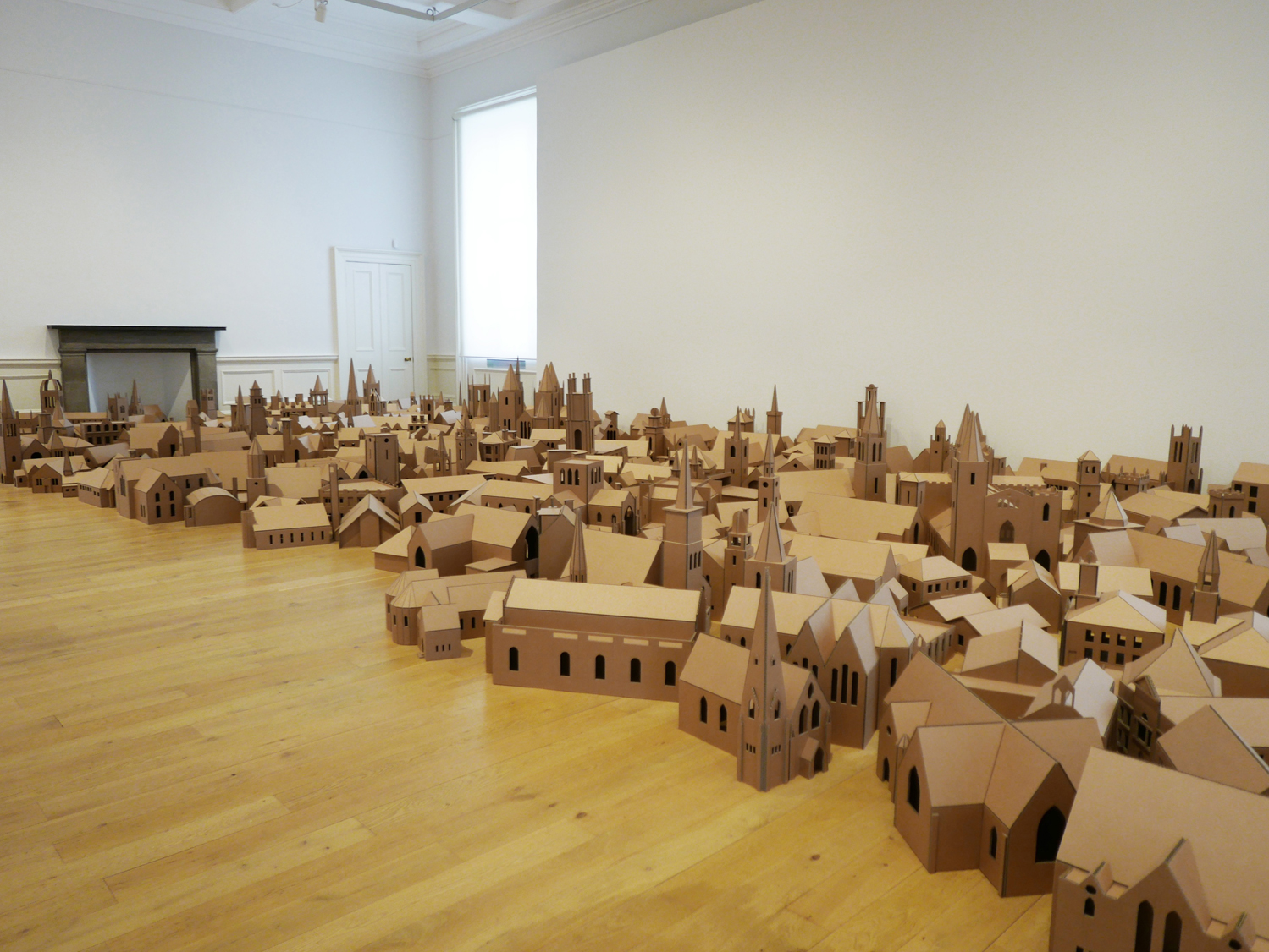 """The Lamp of Sacrifice, 286 Places of Worship, Edinburgh 2004"" By Nathan Coley"