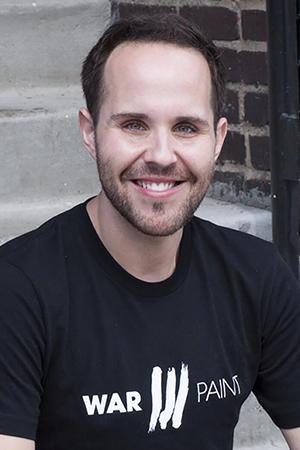Benjamin Rodich. Artistic Director WarPaint International