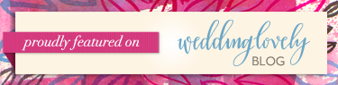 Featured on Wedding Lovely