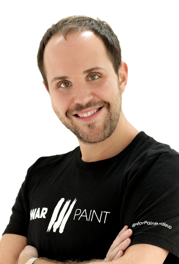 Benjamin Rodich. National Artistic Director for Hair. WarPaint International Beauty Agency.