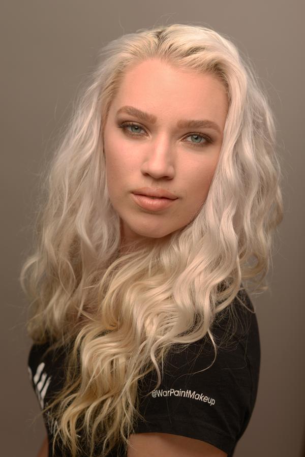 Laura DuVal. WarPaint International Makeup Artists & Special Effects Artist.