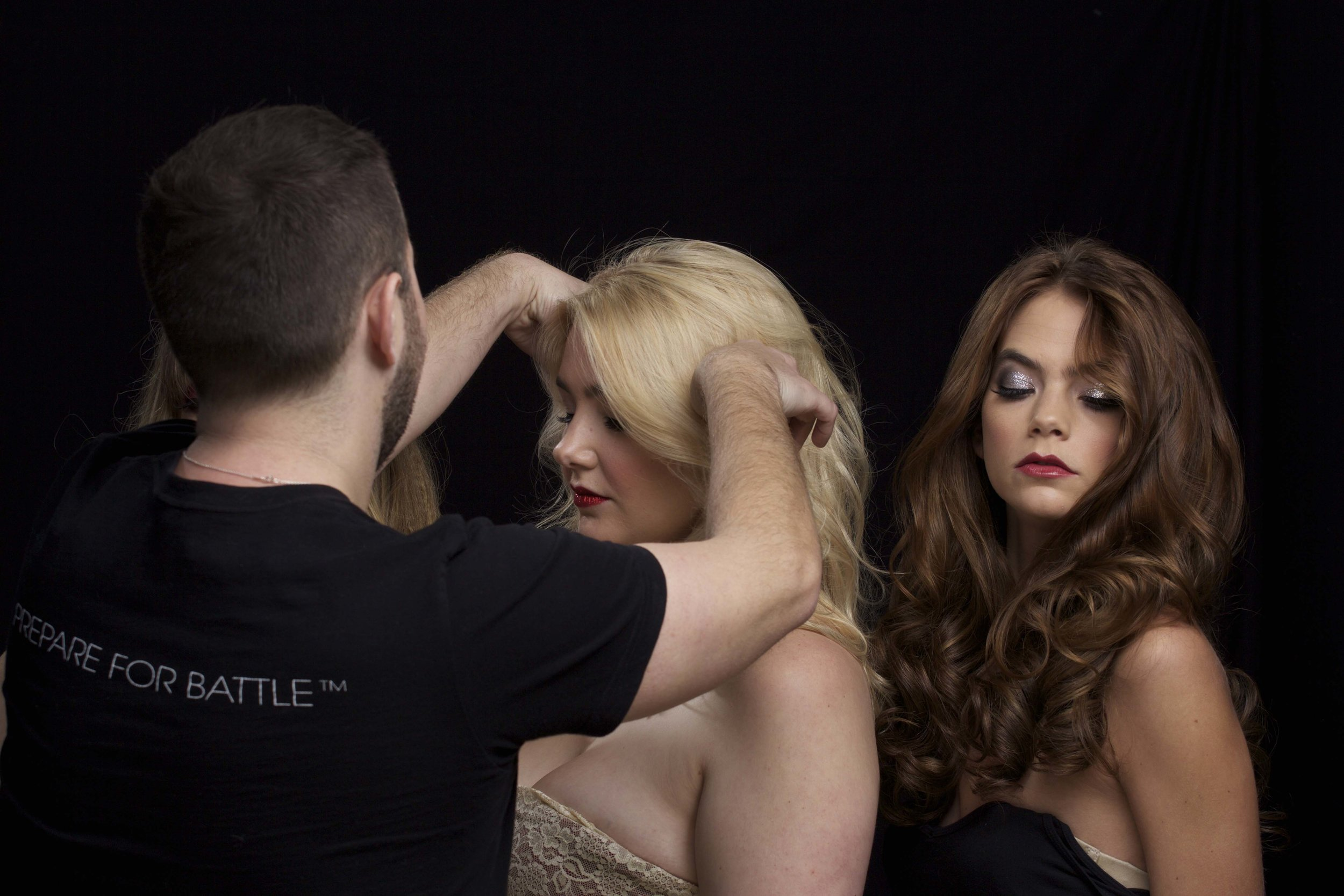 Holiday Hair & Makeup Looks with Benjamin Rodich.