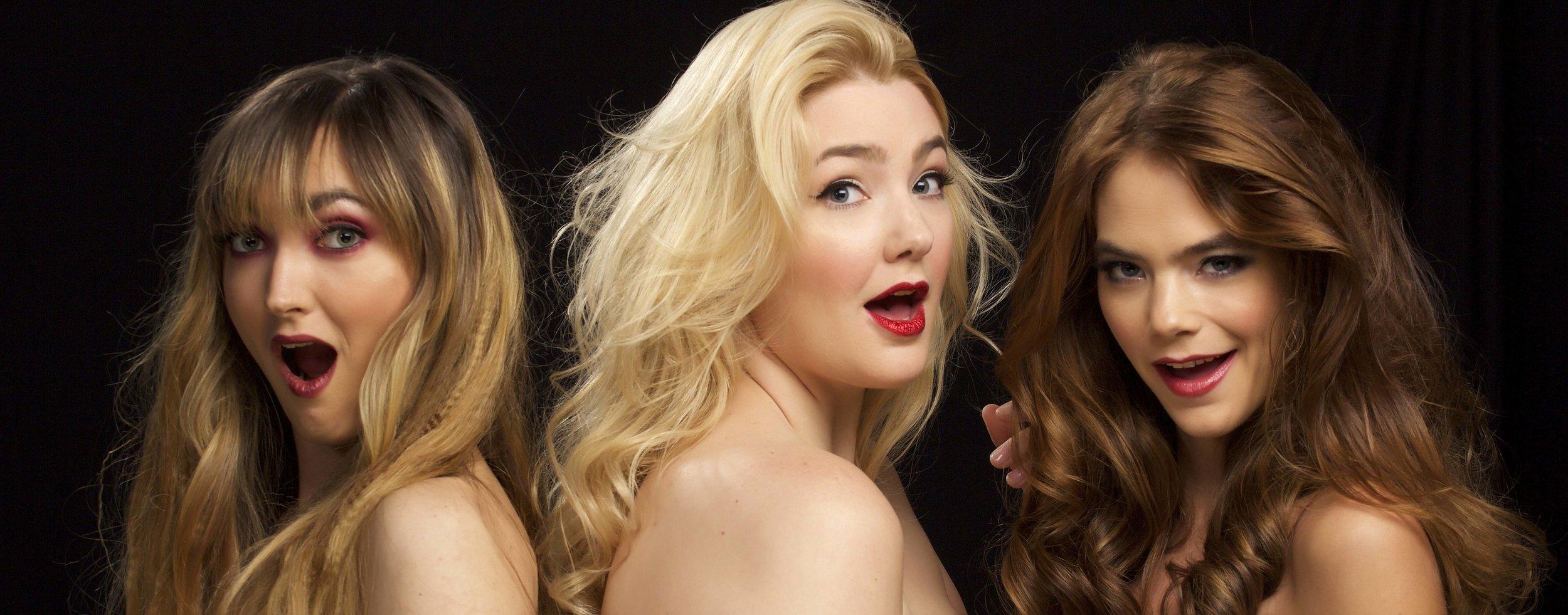 WarPaint Models. Holiday Hair & Makeup 2016