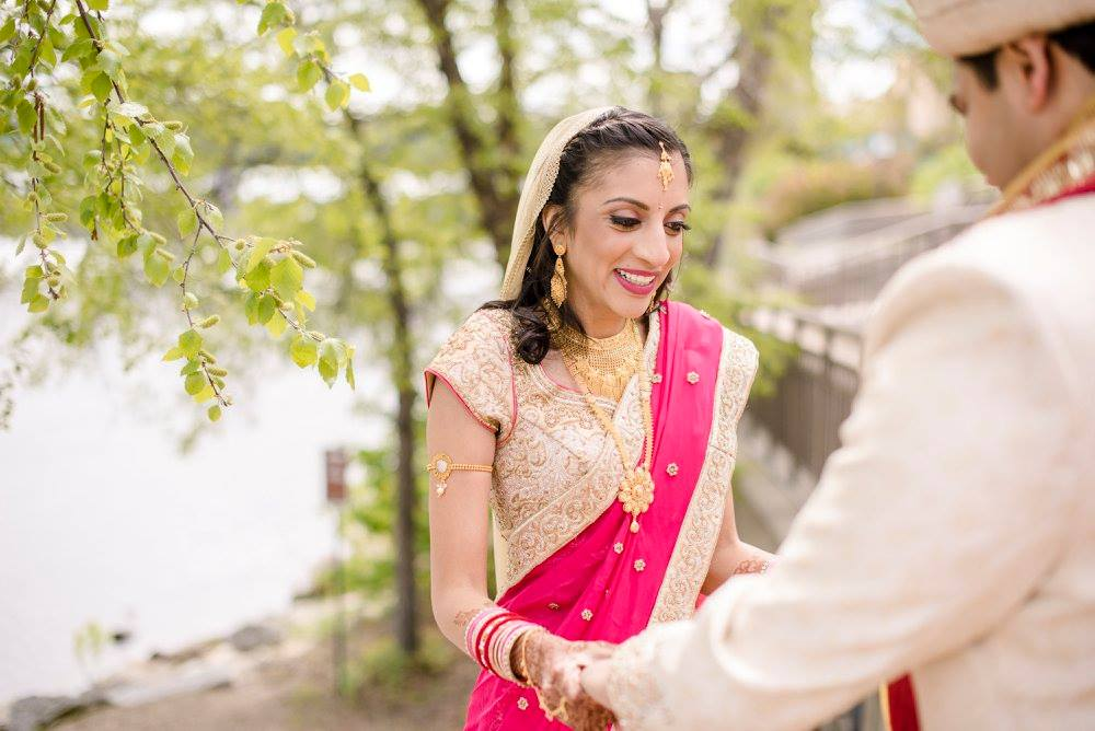 Indian Wedding Makeup and Hair in Minnesota