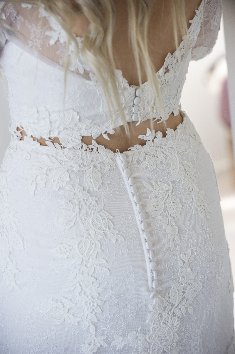 Tanille's Fifi & Edga Wedding gown
