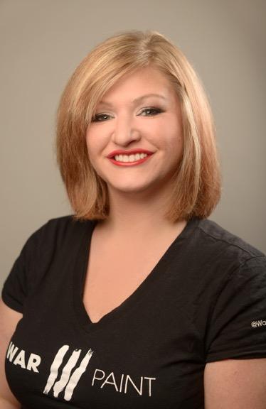 Annie Shurson. WarPaint International Hair & Makeup Artist
