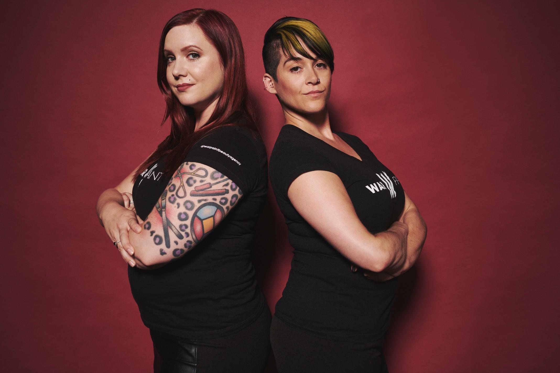 Creative Director, Jessica Mae & Director of Education, Katie Rote.