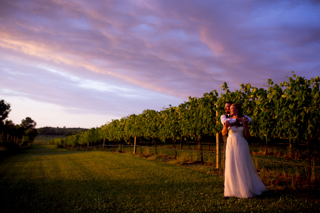 Weddings at Chankaska Creek Winery