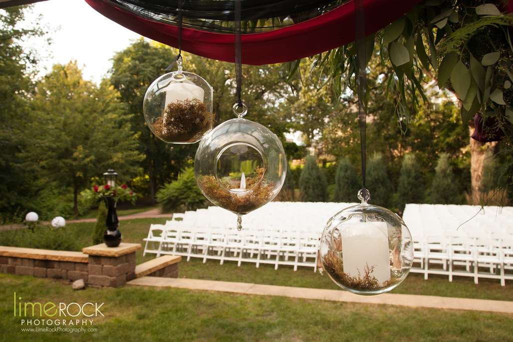 Forest Ceremony area at Chankaska Creek Winery