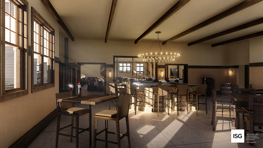 Chankaska Creek Winery Event Center - The Bar Room