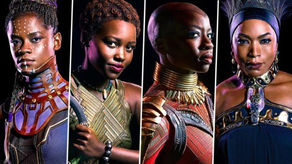 he Melanated Queens of Black Panther. Image Source:  Feminism in India