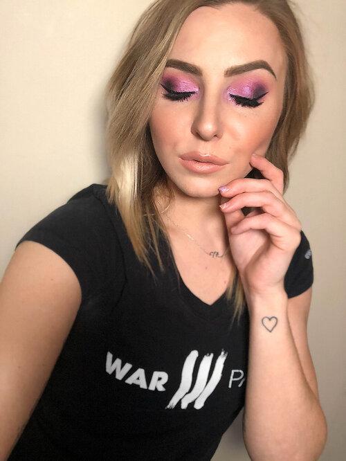 The WPI Purple Rain Prince Makeup Look