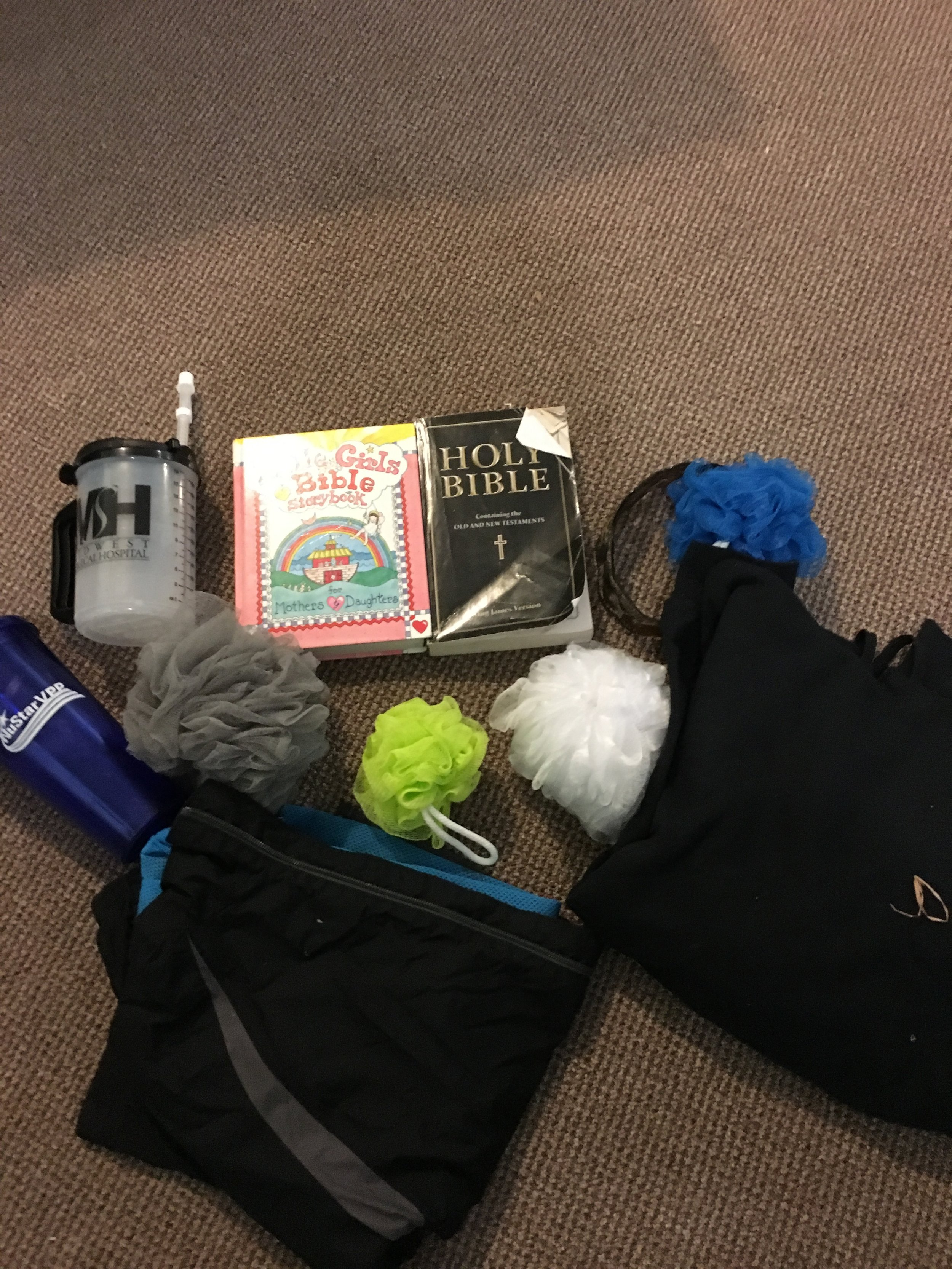 Items Left At camp between July 19th and July 28th