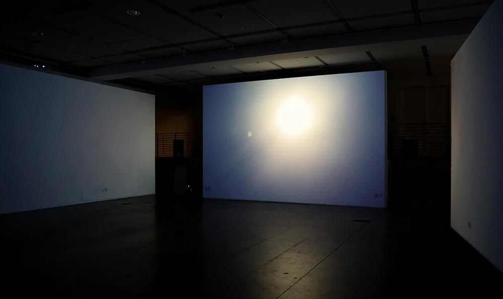 Video still of the installation